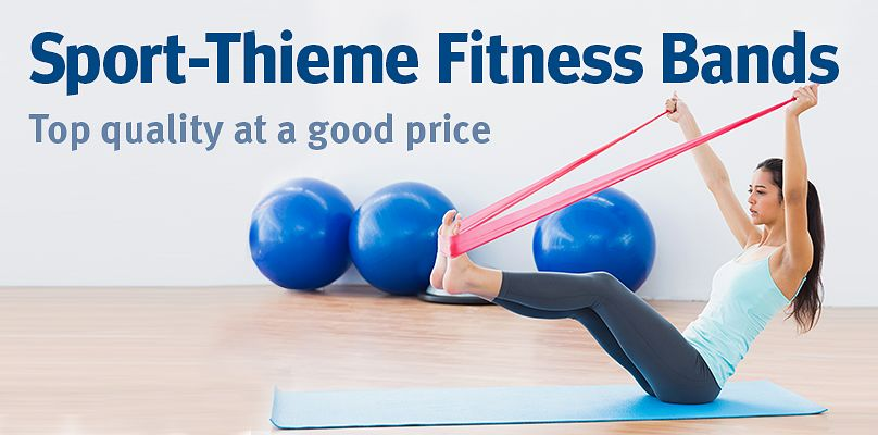 Sport-Thieme Fitness Bands: Top quality at a good price