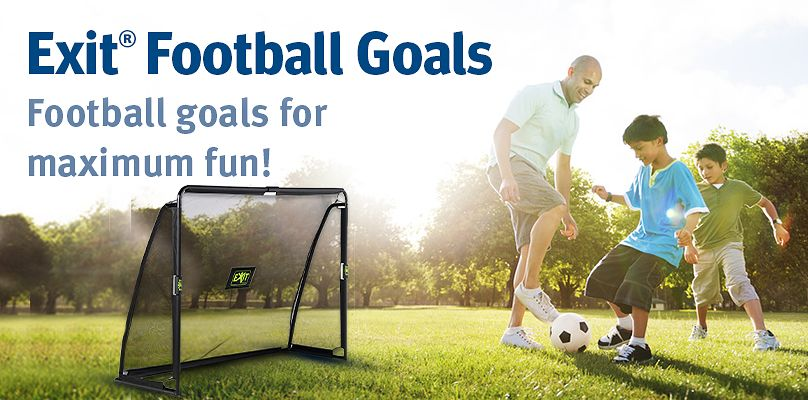 Exit® Football Goals: Football goals for maximum fun