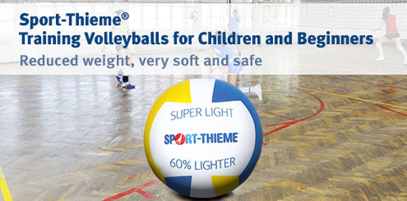 Sport-Thieme Training Volleyballs reduced weight